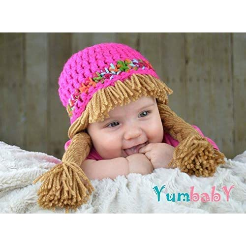 2498cd14403 Cabbage Patch Costume - Crochet Hat