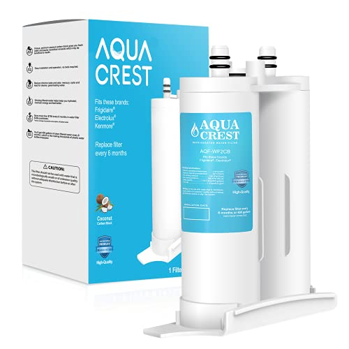 AQUACREST Replacement for WF2CB, PureSource2, NGFC2000, FC100, 1004-42-FA, Kenmore 9916, 469911, 469916 Refrigerator Water Filter