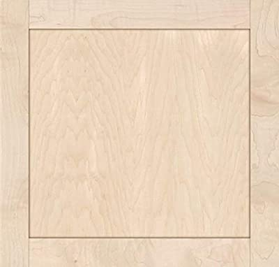 Unfinished Maple Shaker Cabinet Door by Kendor, 21H x 22W