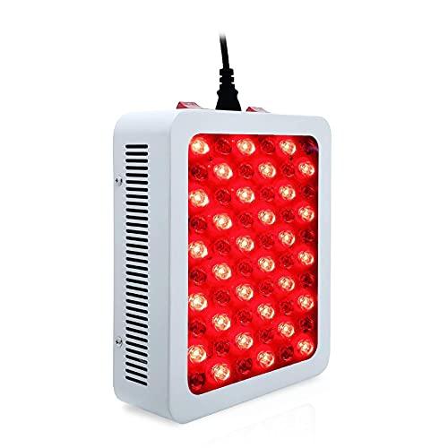 Cushion Tratamiento con Luz Roja Infrarroja Cercana, Fototerapia LED De 660 NM Y 850 NM, Lámpara De Fisioterapia Infrarroja Facial Utilizada para Terapia Muscular