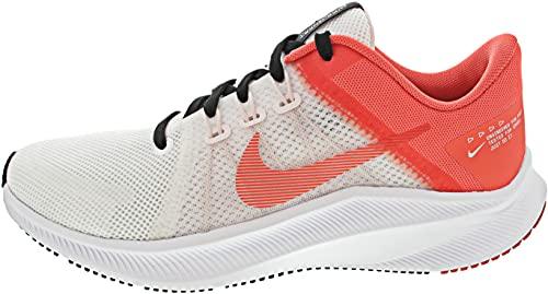 Nike Quest 4, Scarpe da Corsa Donna, Black/White-Dk Smoke Grey, 37.5 EU