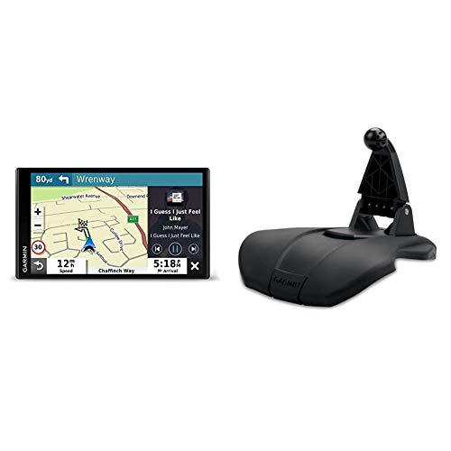 Garmin DriveSmart™ 65 mit Amazon Alexa - 3D-Navigationskarten & - rutschfeste, gummierte Halterung für kompatible Garmin Navigationsgeräte. Für Garmin Drive, Camper, dezl u.v.m.