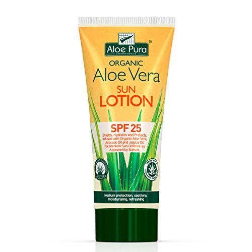 Aloe Pura Aloe Vera Sun Lotion Spf 25 200ml,
