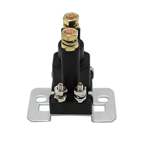 TAKPART 4 Pin 12V AMP 500A relé coche encendido/apagado interruptor de alimentación doble batería aislante