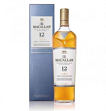 Macallan Triple Cask, 12 Años Single Malt Whisky Escoces, 40%, 700ml