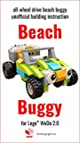 Beach Buggy: all-wheel drive car unofficial building instruction for Lego® Wedo 2.0 (45300)
