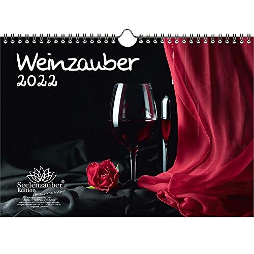 Weinzauber DIN A4 Kalender für 2022 Wein und Weinberge - Seelenzauber