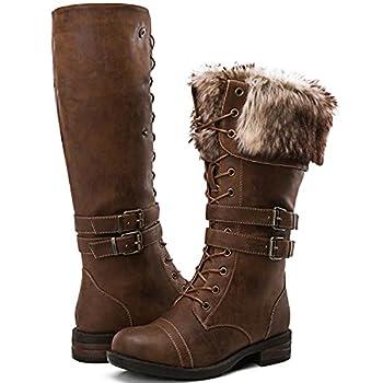 knee high socks combat boots