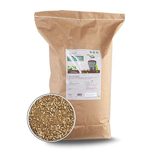 DIMIKRO Bokashi Ferment getrocknet - Kompoststarter und Fermentationshilfe für Bokashi Eimer - Mit Effektiven Mikroorganismen (5 Kg)