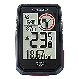 Sigma Sport ROX 2.0 Noir | Compteur Cycle GPS vélo sans Fil & Navigation avec Support Cintre/Potence GPS Inclus | Pur Plaisir de Navigation GPS en extérieur