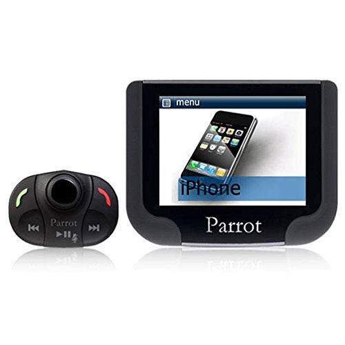 Parrot - MKi9200 \ MKi 9200 - Kit voiture main libre Bluetooth d'origine - Ecran couleur TFT haute resolution - Double microphone externe : Son ultra claire - Compatible iPhone Ipod et USB - AD2P