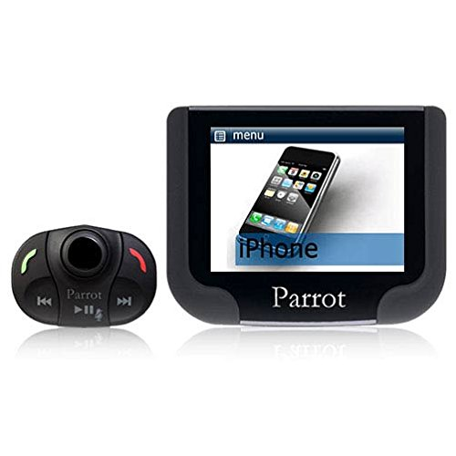 Parrot - MKi9200 \ MKi 9200 - Kit voiture main libre Bluetooth d'origine - Ecran couleur TFT haute resolution - Double microphone externe : Son ultra claire - Compatible iPhone Ipod et USB - AD2P