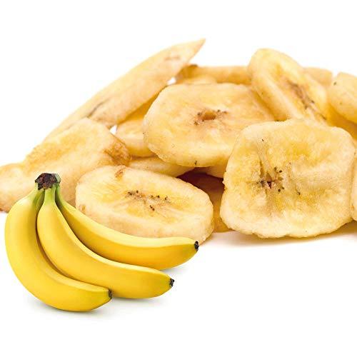Schecker Bananen Chips - Mit Kokosöl - Glutenfrei - ohne Zuckerzusatz - reich an Eisen