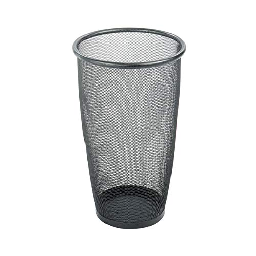Ranking TOP8 Pack of 10 36 Qt. 9 shop Gallon Black Mesh liters 34 Waste Round