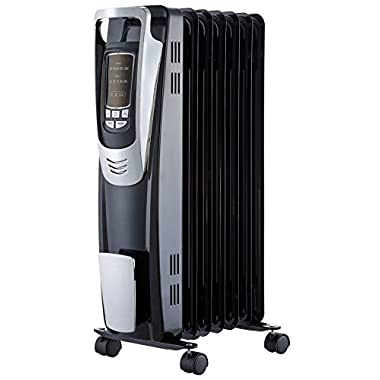 PELONIS NY1507-14A Digital Radiator Heater with Remote Control