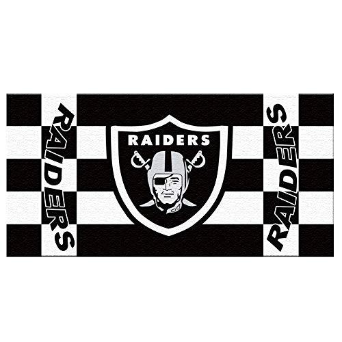 N / B足球运动超级碗风扇标志手浴巾