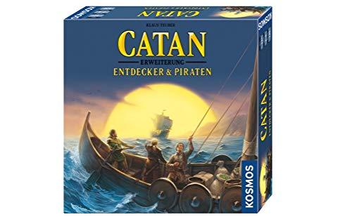 KOSMOS 693411 - CATAN - Entdecker & Piraten, Erweiterung zu CATAN - Das Spiel, Strategiespiel