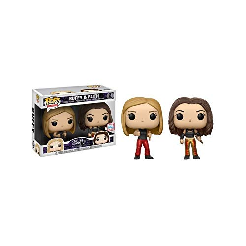 Funko Pop! Television: Buffy The Vampire Slayer - Buffy and Faith (Fall Convention 2017 Exclusive 2-Pack)