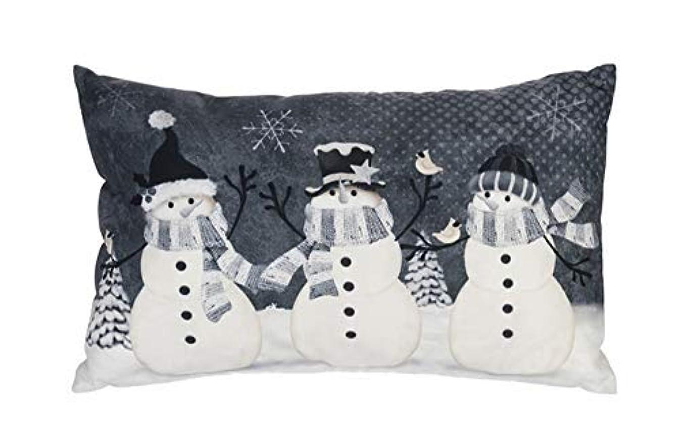 広告する間隔ルーチンGanz Winter Snowman Pillow [並行輸入品]