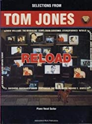 Tom jones: selections from reload piano, voix, guitare