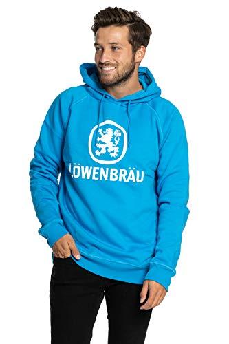 Löwenbräu Hoodie Original | Kleidung | türkis | Top Qualität | Alle Größen (L)