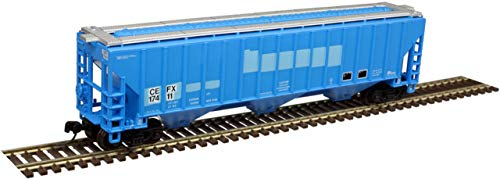 Atlas Trainman HO 20005449 Thrall 4750 Covered Hopper, CIT Group (CEFX) #17397 (Patched)