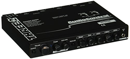 Audio Control Three.2 in-Dash Pre-Amp Equalizer/Subwoofer Crossover with Dual Auxiliary Inputs
