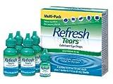 Refresh Tears Lubricant Eye Drops Multi-Pack, 65 ml.