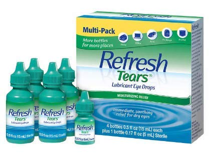 Refresh Tears Lubricant Eye Drops Multi-Pack, 65 ml.
