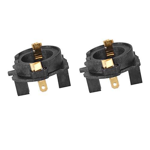 Adaptador para portalámparas, kit de conversión de faros delanteros LED H7 Adaptadores para bulbos de golf MK5,1Pair
