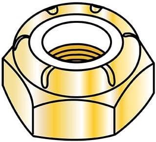 3 4-16 NTE Thin Pattern Nylon Insert Thread Lock Fine Zi Popular mart Hex Nut