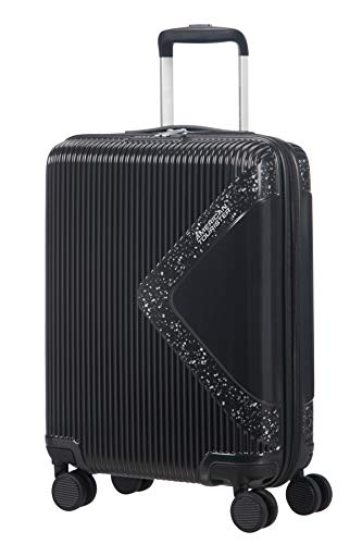 American Tourister Modern Dream Spinner Hand Luggage, 55 cm, 35 L, Schwarz (Meteordust)
