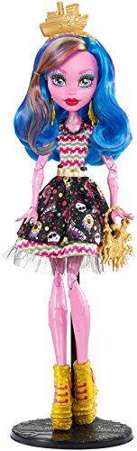 Monster High FBP35 - Bambola Gooliope Look Colorato