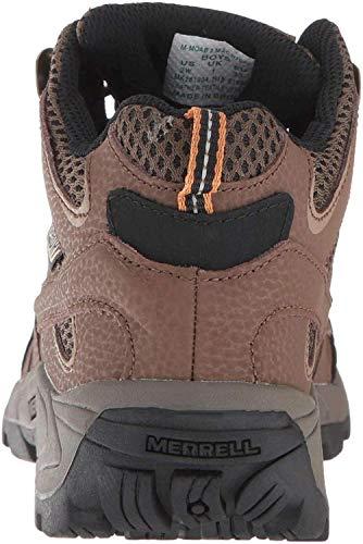 Merrell M- Moab 2 Mid Waterproof, Chaussures de Randonnée Hautes Mixte Enfant, Marron (Earth), 34 EU