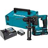 Makita HR166DSMJ TASSELLATORE 10,8V 2x4Ah-16mm-BL-SDS Plus compatibile-2FUNZ. -1,1J, 10.8 V, Nero