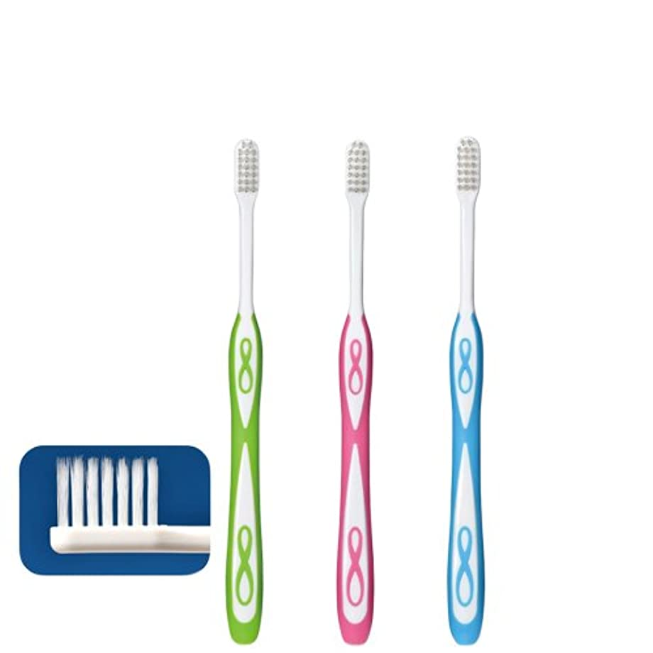 対話チャーミングエリートLover8 ラバーエイト テーパー毛歯ブラシ × 1本 Ciメディカル 【歯科専売品】