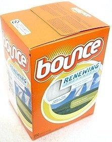 バウンス ドライヤーシート Bounce DryerSheet 乾燥機用衣料柔軟剤 250枚入×4箱