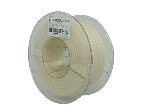 YS Filament YS-2.85-FABS-W-1000 Brandschutzmittel mit 5VA Wertung, ABS, 2,85 mm, 1 kg, Weiß
