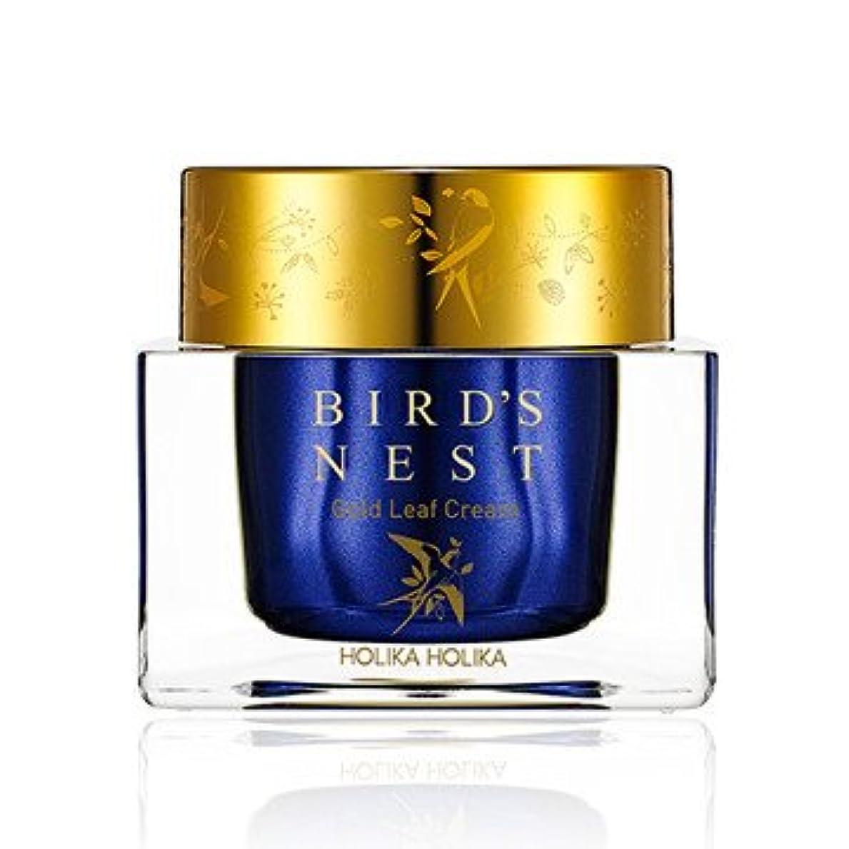 だますカニ影響力のある[2018 NEW] ホリカホリカ プライムユース バーズネスト ゴールドリーフ クリーム/Holika Holika Prime Youth Birds Nest Gold Leaf Cream 55ml [並行輸入品]