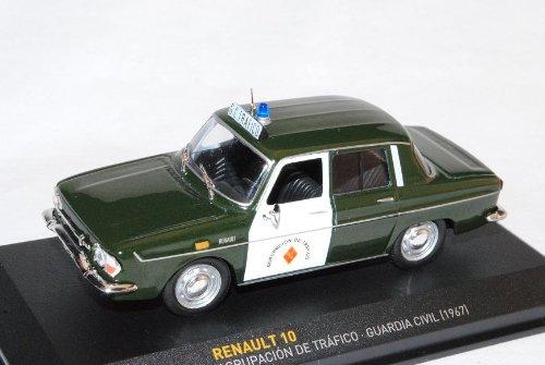 Renault 10 Polizei Police 1/43 ixo By Altaya Modell Auto Modellauto SondeRangebot
