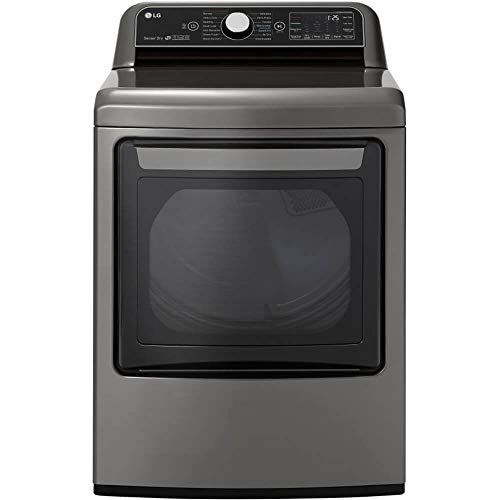 LG DLEX7800VE 7.3 cu.ft. Smart wi-fi Enabled Electric Dryer with TurboSteam - Graphite Steel