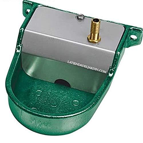 Copele Chiens Petits. Sortie Verticale. Se recours à basse pression ou sortie de réservoir d'eau. Bain Animaux Vert avec dimensions : 12 x 16 x 6 cm