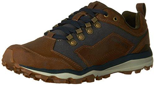 Merrell J49313, Chaussures Basses pour Homme - Marron - Marrone/Denim, 41 EU EU