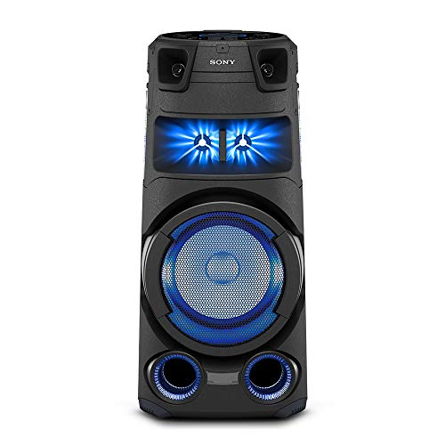Sony MHC-V73D High Power Party Speaker with Bluetooth Technology (Karaoke,Gesture Control, Party Light, Taiko) - Black