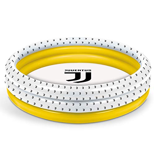 Mondo Toys - F.C. Juventus | 3 Rings Pool - Piscina gonfiabile per bambini 3 anelli - diametro 100 cm - capacità 84 Lt. - 16868