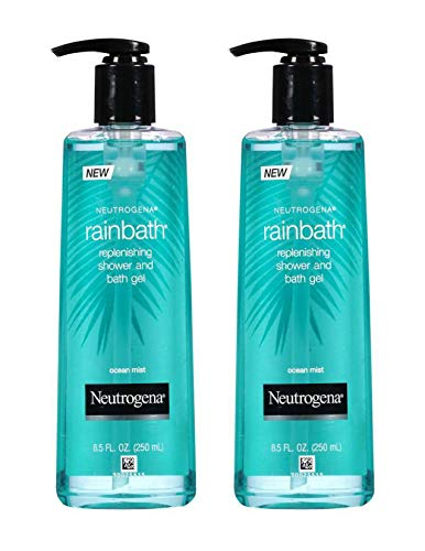 Neutrogena Rainbath 8.5 Ounce Ocean Mist Shower & Bath Gel (250ml) (2 Pack)