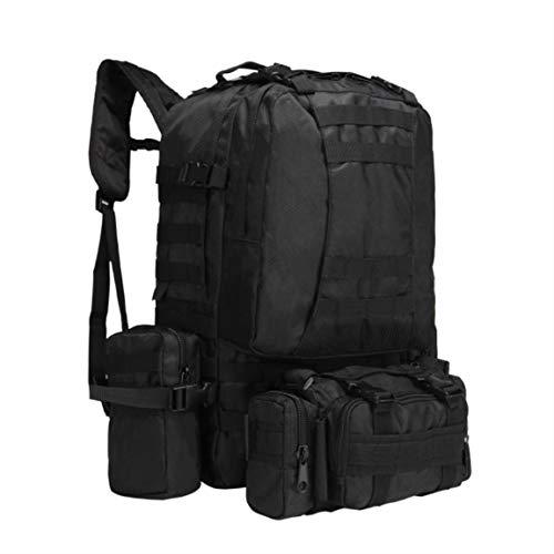 Zishine Mochila táctica Militar Ejército de Asalto de 3 días Ejército de 3 días 50L Molle Bag Sports Outdoor Escalada de Viaje Camping Impermeable,Style a