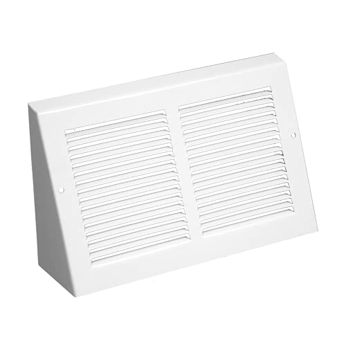 Continental Triangular Baseboard Grille Air Vent Covers - 30x6-Inch Opening & 6 ⅞ x31 ⅜-Inch Overall