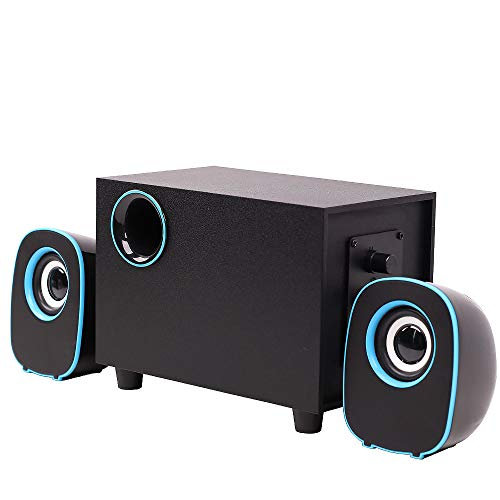 Affordable Computer Subwoofer Speaker Audio 2.1 Channel Multimedia Bluetooth Strong Bass FT-H3 Deskt...