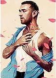 ZHANGXIN Dekor Leinwand Poster Sam Smith Poster Alternative